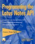 Programming the Lotus Notes API - Carolyn Kraut