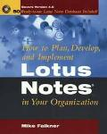 How to Plan, Develop, and Implement Lotus Notes in Your Organization - Mike Falkner