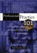 Professional Practice 101 A Compendium of Business and Management Strategies in Architecture