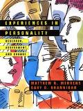 Experiences in Personality Research, Assessment, and Change