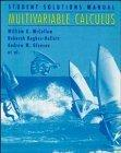 Multivariable Calculus, Student Solutions Manual
