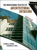 Professional Practice of Architectural Detailing