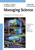 Managing Science Management for R&d Laboratories