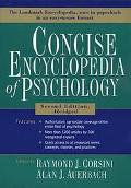 Concise Encyclopedia of Psychology Abridged