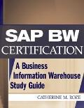 Sap Bw Certification A Business Information Warehouse