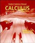 Calculus, Student Solutions Manual: Single Variable