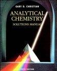 Analytical Chemistry, 5th Edition Solutions Manual