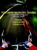 Functions Modeling Change: A Preparation for Calculus (Preliminary Edition)