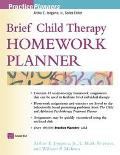 Brief Child Therapy Homework Planner