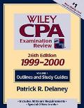 Wiley Cpa Exam Review:out...,99-00,v.i