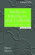 Surfaces, Interfaces, and Colloids Principles and Applications