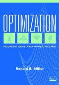 Optimization Foundations and Applications