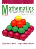 Mathematics for Elementary Teachers: A Contemporary Approach, 5th Edition Update