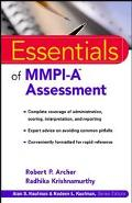 Essentials of Mmpi-A Assessment