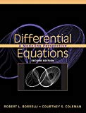 Differential Equations A Modeling Perspective
