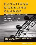 Functions Modeling Change A Preparation for Calculus  Graphibng Calculator Guide for the Ti-83