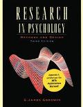 Research In Psychology: Methods and Design (Update)