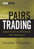 Pairs Trading Quantitative Methods and Analysis