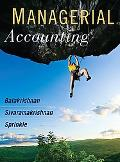 Managerial Accounting: Models for Decision-Making
