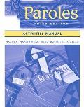 Paroles Activities Manual