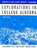 Explorations in College Algebra Graphing Calculator Manual