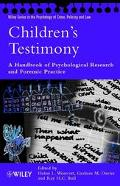 Children's Testimony: A Handbook of Psychological Research and Forensic Practice - Helen L. ...