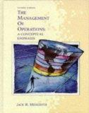 The Management of Operations: A Conceptual Emphasis (Wiley Series in Production/Operations M...
