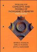 Problems for Concepts and Models of Inorganic Chemistry
