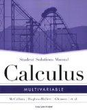 Multivariable Calculus, SSM: MV
