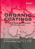 Organic Coatings Science And Technology