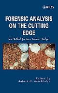 Forensic Analysis on the Cutting Edge