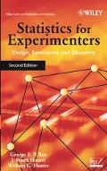 Statistics For Experimenters Design, Innovation, and discovery