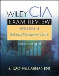 Wiley CIA Exam Review Business Management Skills