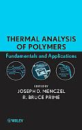 Thermal Analysis in Polymers
