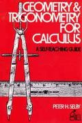 Geometry and Trigonometry for Calculus