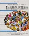 Statistical Reasoning in Psychology and Education (Student's Study Guide and Workbook, 3rd E...