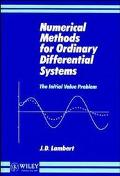 Numerical Methods for Ordinary Differential Systems The Initial Value Problem