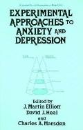 Experimental Approaches to Anxiety and Depression (Biological Council Symposia on Drug Action)