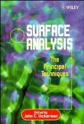 Surface Analysis-The Principal Techniques The Principal Techniques
