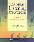 Academic Listening Strategies A Guide to Understanding Lectures