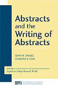 Abstracts and the Writing of Abstracts, Vol. 1