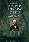 Journal of Henry D. Thoreau In Fourteen Volumes Bound As Two  Vols. I-VII (1837-October, 1855)