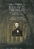 Journal of Henry David Thoreau/in Fourteen Volumes Bound As Two Vols. 8-14 (November, 1855-1...