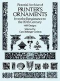 Pictorial Archive of Printer's Ornaments from the Renaissance