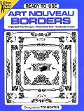 Ready-To-Use Art Nouveau Borders