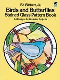 Birds and Butterflies Stained Glass Pattern Book 94 Designs
