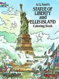 Statue of Liberty and Ellis Island Coloring Book