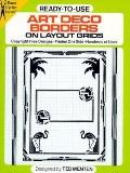 Ready-to-Use Art Deco Borders: On Layout Grids - Theodore Menten - Paperback