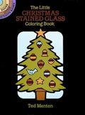 Little Christmas Stained Glass Coloring Book