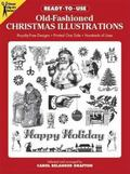 Ready-To-Use Old-Fashioned Christmas Illustrations Copyright-Free Designs, Printed One Side,...